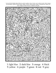 There is something that can make everyone happy, and this is coloring sketches. Free Printable Paint By Numbers For Adults Coloring Home