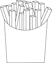 french fries clipart black and white. Fine Clipart Black And White French Fries With Clipart And I