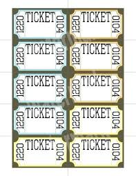 template raffle tickets free raffle ticket templates follow these steps to create your