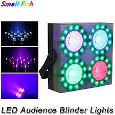 Hàng Mới Về 4 Mắt 4X30W RGB 3IN1 LED Khán Giả Mang Khi DMX LED COB 150W  Phẳng Ngang Bằng Đèn 48 chiếc RGB Full Màu SMD 5050 Đèn LED|Stage Lighting  Effect