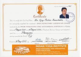 It Certification Programs Best Of Yoga Certification Certificate Get