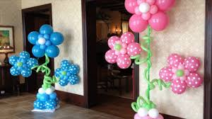 Decorating With Balloons Very Easy Balloon Decoration Ideas Youtube