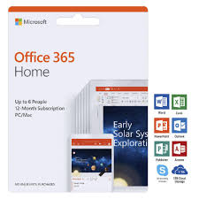 Offi 365 Microsoft Office 365 Home Up To 6 People 12 Months Download