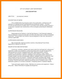 Resume Description Examples 100 Job Summary Examples Writing A Memo Resume Description Is One Of 25