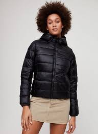 teddy puffer teddy lined goose down puffer