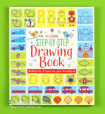 original english painting graffiti book usborne big drawing book large type step by step drawing 96pages per book education gift in books from office