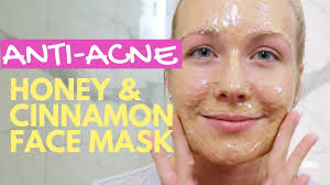 diy honey cinnamon face mask acne scar removal