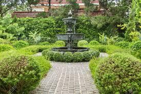 english garden design. Fountain In English Garden Design. Stock Photo - 45899401 Design