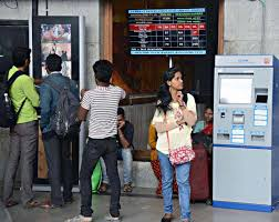 How To Use Ticket Vending Machine In Railway Station Stunning No Takers For Ticket Vending Machines At Railway Station The Hindu