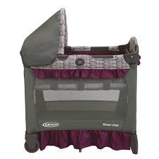 graco bedroom bassinet portable crib. graco baby travel lite crib with stages bassinet - nyssa: amazon.ca: bedroom portable