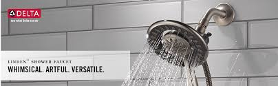 linden dual handle tub and shower faucet