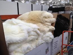 sheepskin rugs at costco