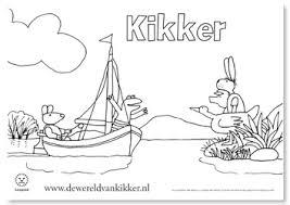 Kleurplaten Van Kikker Door Max Velthuijs