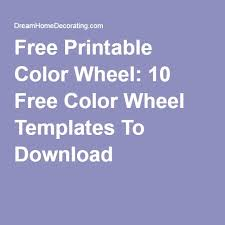 Kids tend to get attracted to things that move fast and look snazzy. Free Printable Color Wheel 10 Free Color Wheel Templates To Download Color Wheel Templates Printable Free Free Coloring