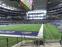 Dallas Cowboy Seating Chart New Stadium At T Stadium Section 145 Seat Views Seatgeek