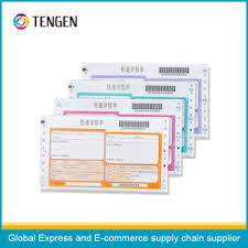 China Express Used Delivery Waybill For Goods Tracking China Air