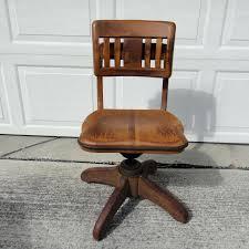 oak swivel office chair vintage oak swivel office chair wooden swivel desk chair australia