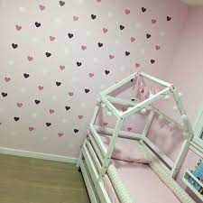 heart wall sticker for kids