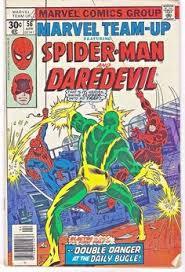 marvel team up 56 marvel ics 1977 spider man