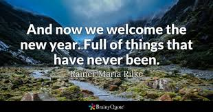 As We Welcome The New Year Quotes