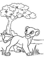 Only male lions boast manes, the impressive fringe of long hair that encircles their heads. Free Easy To Print Lion King Coloring Pages Tulamama