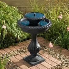 Nice Garden Fountain Solar Smallpatiowaterfountains Powered Water Solar Garden Fountain