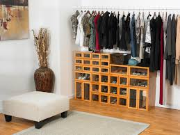 ... Home Decor Bedroom Closetshoe Storage Drawers Shoe Gallery Cherry Wood  No Closet In My Small Solutions ...