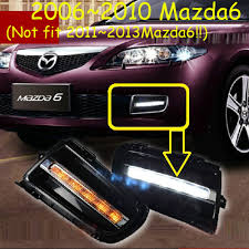 2006 Mazda 6 Lights Car Bumper Headlight For Mazda 6 Mazd6 Daytime Light Atenza Fog Light Led Drl Headlamp For Mazda6 Fog Light