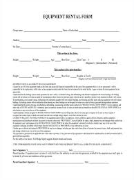 Equipment Lease Form Template Template Equipment Lease Form Template 9