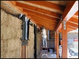 How to Build an Eco Friendly  Straw Bale House  Benefits of    straw bale house construction