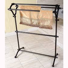 bronze towel rack. Brilliant Towel Pedestal Oil Rubbed Bronze Bath Towel Rack  Overstockcom Shopping  The  Best Deals On Holders Intended T