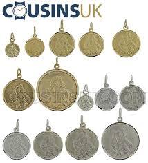 st christopher pendants round
