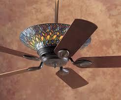 fancy stained glass ceiling fan light kit 71 in home decorators