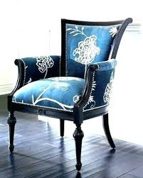 blue and white accent chair. Blue And White Accent Chair Light Slipper E