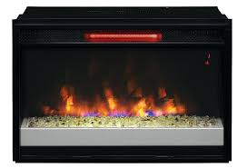 infrared contemporary electric fireplace insert ii310grg space heater gas vs fireplaces heat sq ft