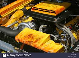 Ford Mustang Car Engine Stock Photos & Ford Mustang Car Engine ...