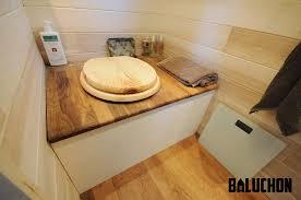 Toilettes Sèches Dans Une Tiny House, ©Baluchon