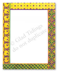 Border Designs On Yellow Chart Paper Bedowntowndaytona Com