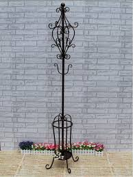 Coat Rack Hanger Stand Creative fashion coat rack hangers wrought iron floor standing rack 66