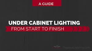 under cabinet lighting installation. Under Cabinet Lighting From Start To Finish - A Guide Installation