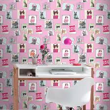 Liverpool Fc Bedroom Wallpaper Cool Crazy Cats Wallpaper Rasch 272802 Pink Bedroom Room Decor