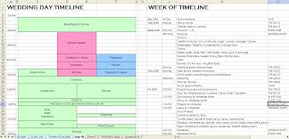 Wedding Day Timeline Excel Wedding Timeline Checklist Excel Magdalene Project Org