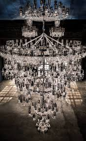 baccarat crystal celebrating 250 years in style with the largest chandelier ever