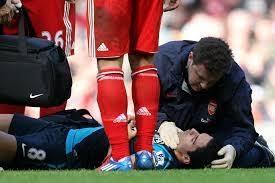 Resultado de imagen de traumatismo craneal en el deporte