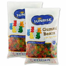 gummi bears 5 lb bag 2 pack