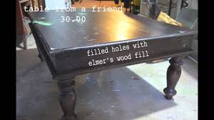 Zinc Finish Furniture Faux Zinc Tutorial Youtube