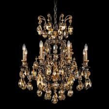 schonbek lighting 3771 76tk renaissance 8 light candle style chandelier heirloom bronze