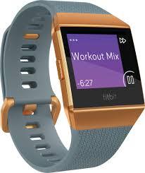 Fitbit Ionic Smartwatch Orange Fb503cpbu Best Buy