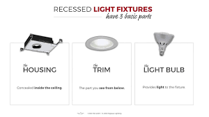 recessed lighting parts led recessed lighting fixtures