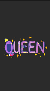 Black Wallpaper Queen - Wallpaper